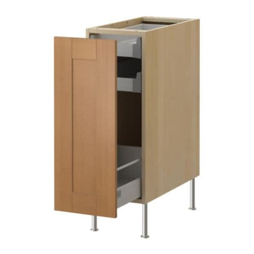 AKURUM Base cabinet with pull-out storage IKEA