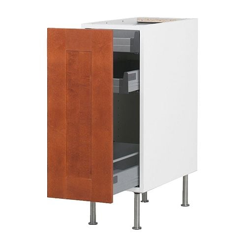 Best Way To Store Dishes In 1 Ft Wide Pullout?