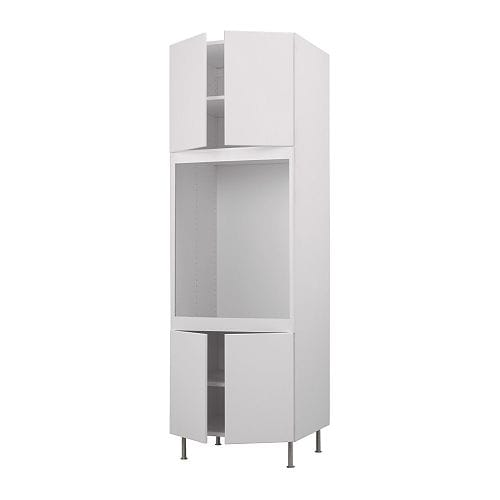 AKURUM High cabinet f single oven+4 doors IKEA You can customize spacing as needed, because the shelf is adjustable.