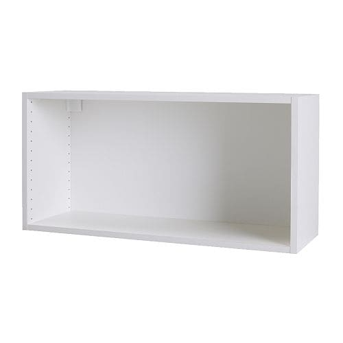 "AKURUM Wall cabinet frame IKEA Sturdy frame construction, 3/4"" thick."