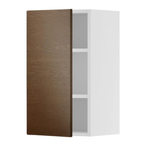 AKURUM Wall cabinet IKEA You can customize spacing as needed, because the shelf is adjustable.