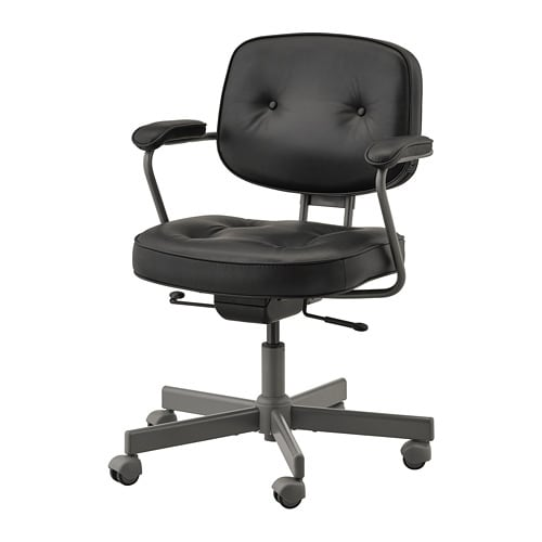 Genial ALEFJÄLL Office Chair   Glose Black   IKEA