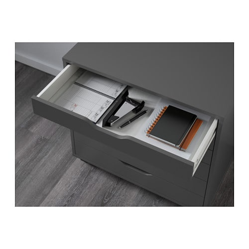 ALEX Drawer Unit On Casters   Gray   IKEA