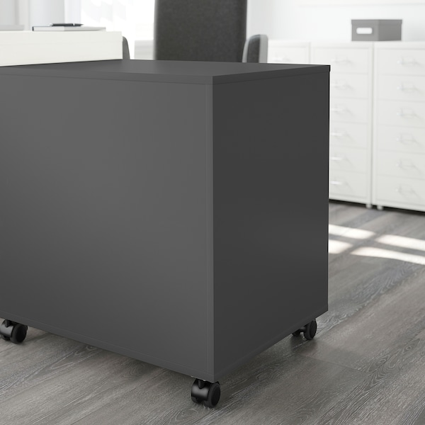ALEX Drawer unit on casters, gray, 26 3/8x26 ""