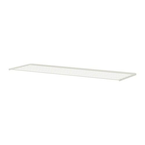 ALGOT Drying rack , white Depth: 15