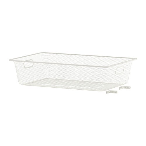 Sale alerts for Ikea ALGOT Mesh basket, white - Covvet