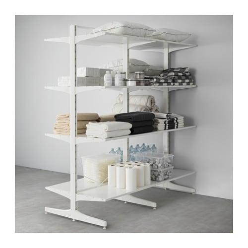 algot post foot shelves ikea. Black Bedroom Furniture Sets. Home Design Ideas
