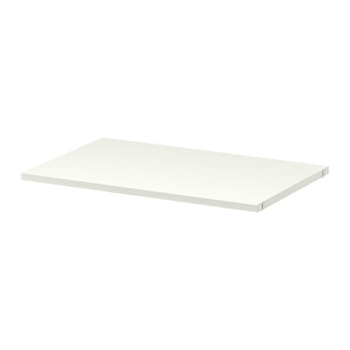 ALGOT Shelf IKEA Just click in on ALGOT brackets – no tools needed.  The surface is hardwearing, stain resistant and easy to keep clean.