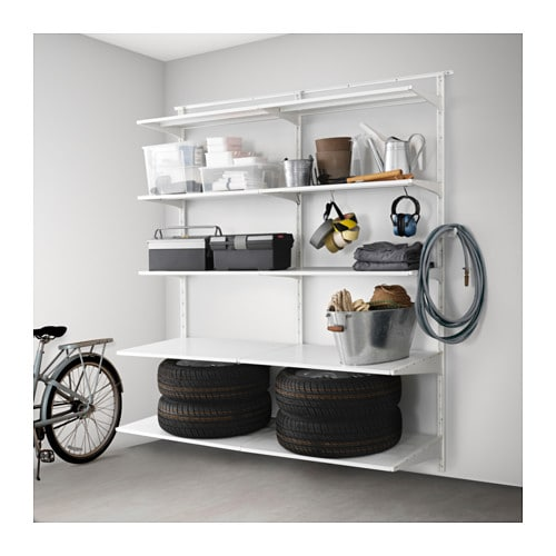 ikea algot wall storage combination. Black Bedroom Furniture Sets. Home Design Ideas