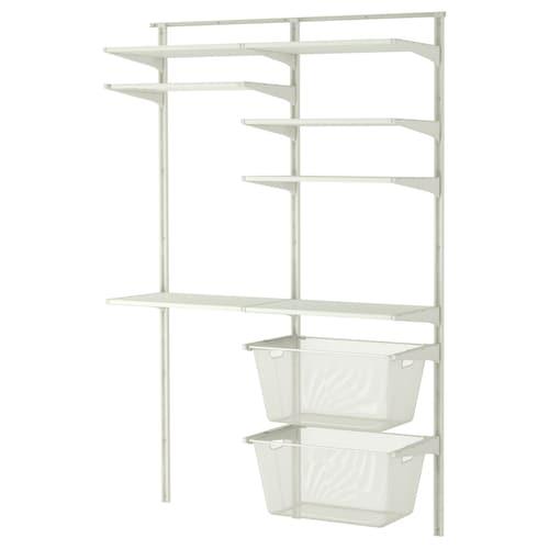 IKEA ALGOT Wall upright/shelves/drying rack