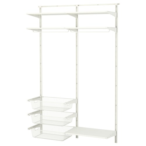 IKEA ALGOT Wall upright/shelves/rod