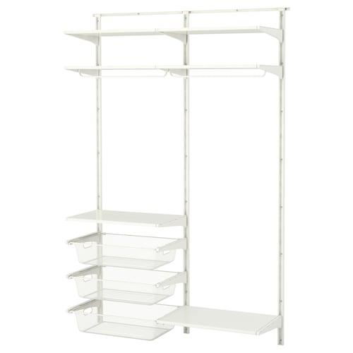 IKEA ALGOT Wall upright/shelves/rod