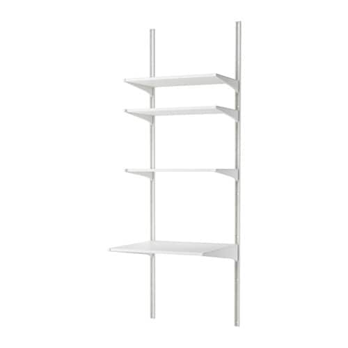 Algot Wall Upright Shelves Ikea The Parts In Series Can Be Combined