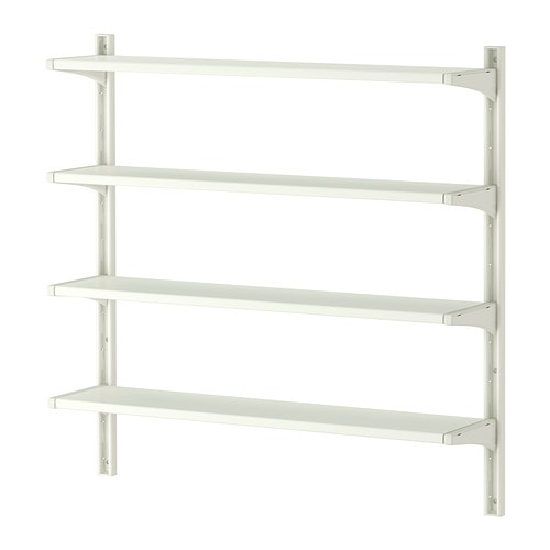 ALGOT Wall upright/shelves IKEA You can build ALGOT in many ways to suit different things and spaces.