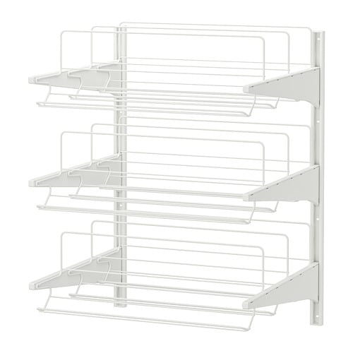 Algot Wall Upright Shoe Organizer Ikea The Parts In Series Can Be Combined