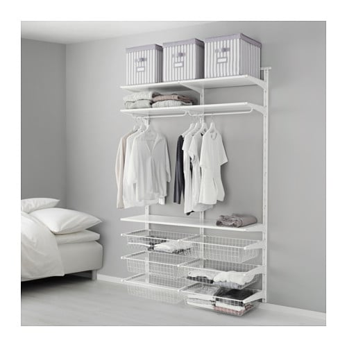 ALGOT Wall upright/wire baskets - IKEA