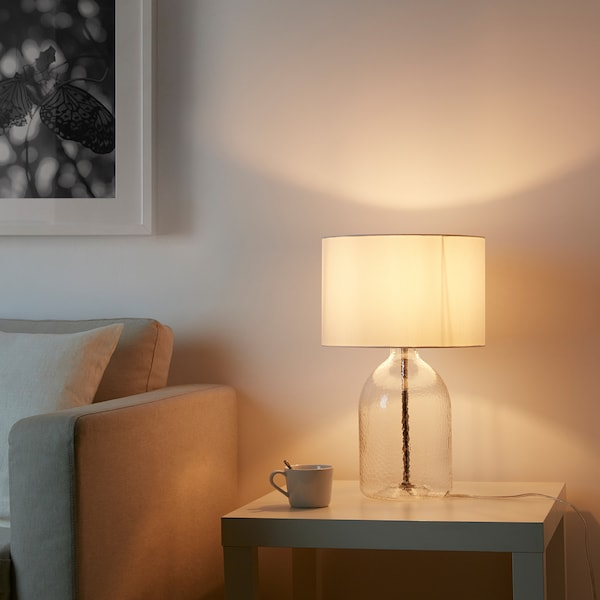IKEA ALLANIT Table lamp with led bulb