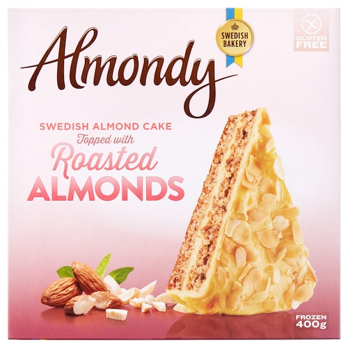 IKEA ALMONDY Almond cake, frozen