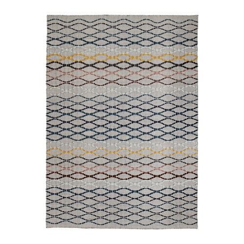 ALRUM Rug, flatwoven, handmade multicolor