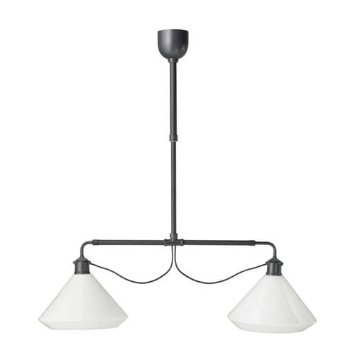 Lv ngen pendant lamp double ikea - Suspension blanche ikea ...