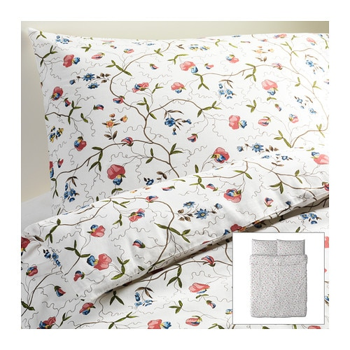 ALVINE ÖRTER Duvet cover and pillowcase(s) IKEA