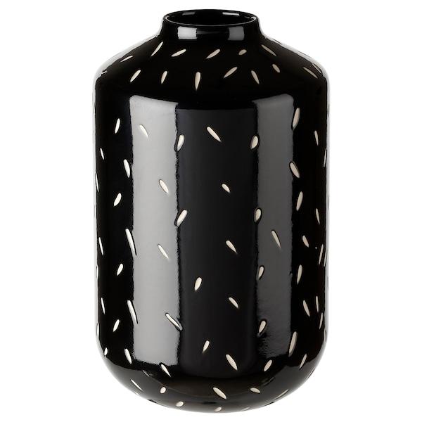 "ANDTRUTEN Vase, black, 8 ¼ """