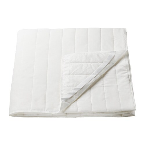 Angsvide Mattress Protector Ikea A Comfortered Mattress Protector With Polyester And Cotton Blend Fabric And Polyester