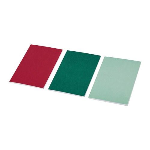 ANILINare Cuaderno, rojo, verde