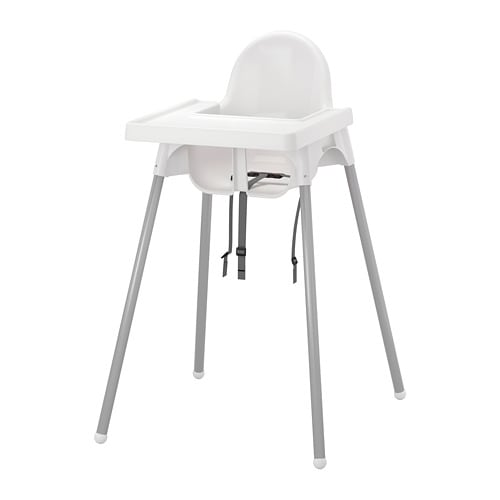 Antilop High Chair With Tray Ikea