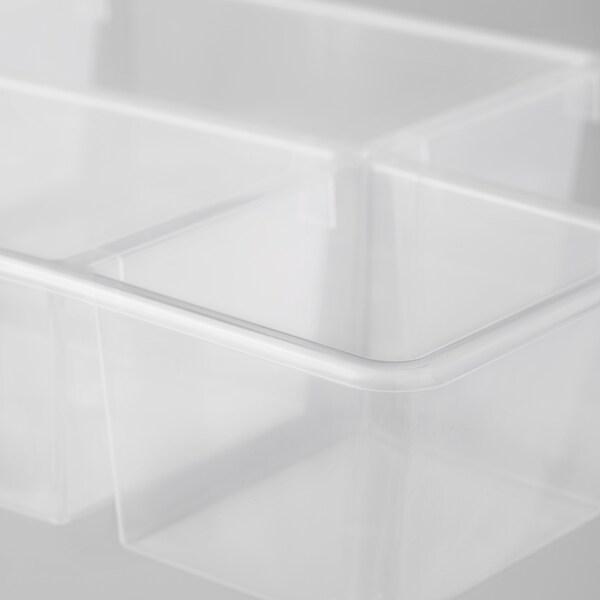 "ANTONIUS Basket insert, clear, 14 5/8x9 1/2x2 3/4 """