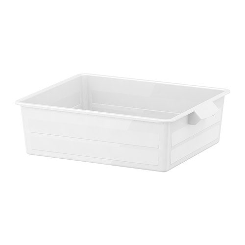 ANTONIUS Drawer IKEA Water- and moisture-resistant; great for laundry.  Pulls out for easy overview and access to the contents.