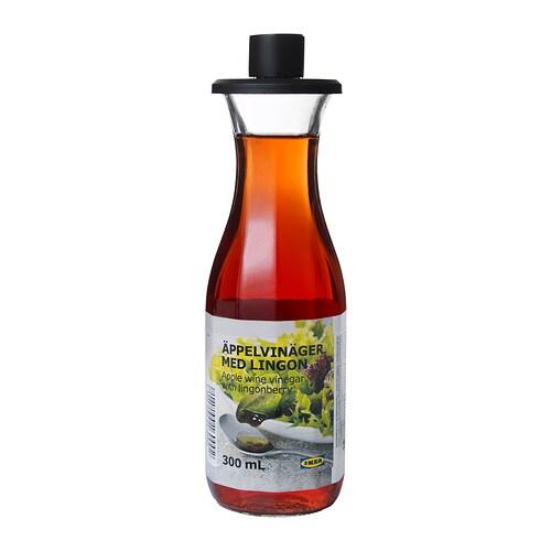 196 Ppelvin 196 Ger Med Lingon Apple Vinegar With Lingonberries