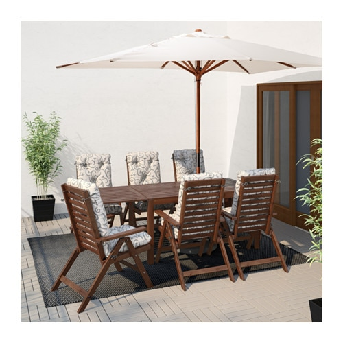 pplar drop leaf table outdoor ikea - Patio Table With Umbrella