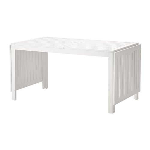 pplar drop leaf table outdoor white ikea. Black Bedroom Furniture Sets. Home Design Ideas