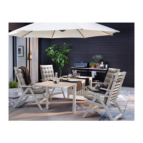 PPLAR Dropleaf table outdoor IKEA