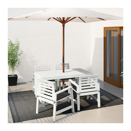 ÄPPLARÖ Drop Leaf Table, Outdoor IKEA The Drop Leaves Can Be Folded And