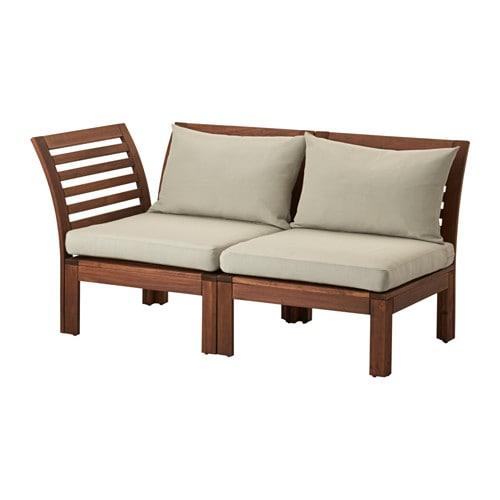 ÄPPLARÖ 2-seat modular sofa, outdoor - IKEA