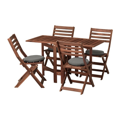 196 Pplar 214 Table And 4 Folding Chairs Outdoor 196 Pplar 246