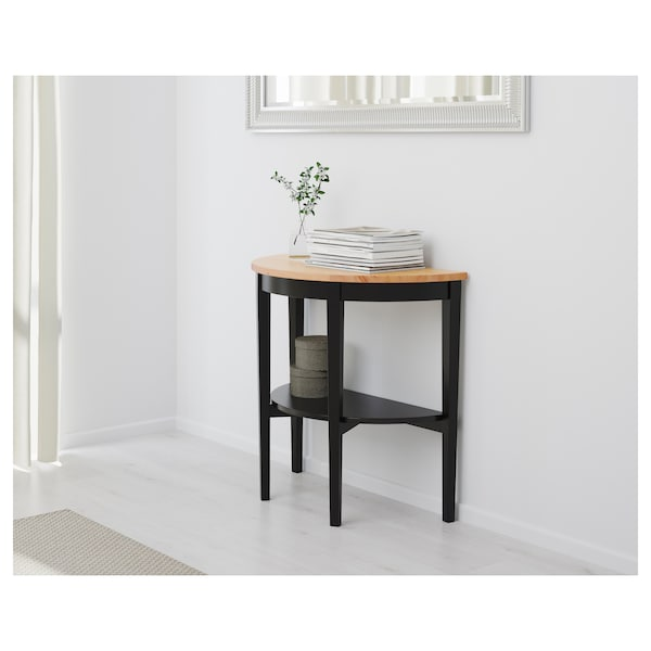 """ARKELSTORP console table black 31 1/2 """" 15 3/4 """" 29 1/2 """""""