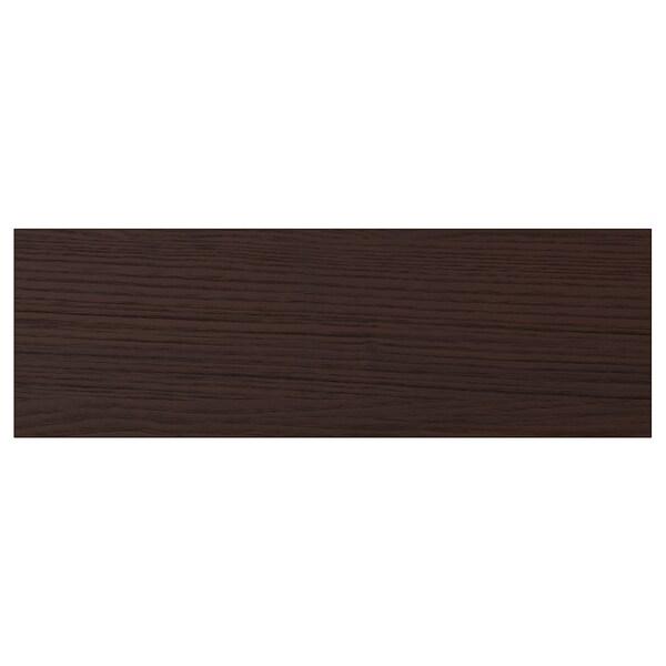 """ASKERSUND Drawer front, dark brown ash effect, 15x5 """""""