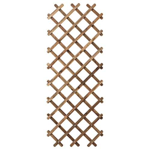 "ASKHOLMEN trellis light brown stained 28 3/8 "" 1 1/8 "" 74 3/4 """