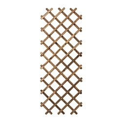 ASKHOLMEN trellis, light brown stained light brown gray-brown stained gray-brown