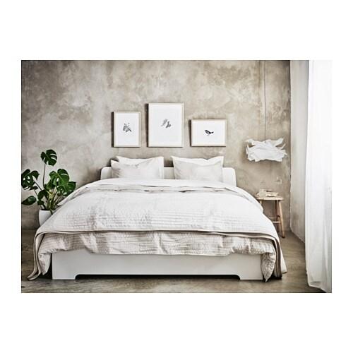 askvoll bed frame queen ikea - Queen Bed Frame Ikea