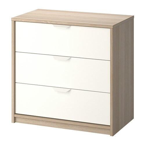 Askvoll 3 Drawer Chest