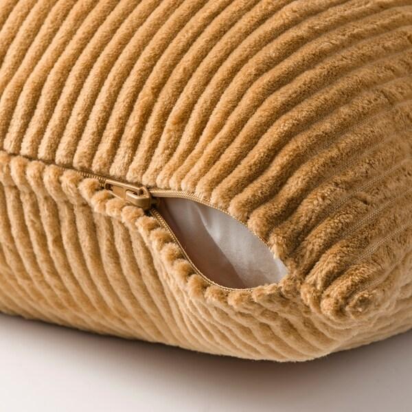 """ÅSVEIG Cushion cover, dark beige, 16x26 """""""