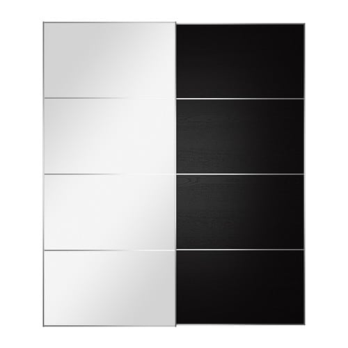 AULI / ILSENG Pair of sliding doors IKEA 10-year Limited Warranty.   Read about the terms in the Limited Warranty brochure.