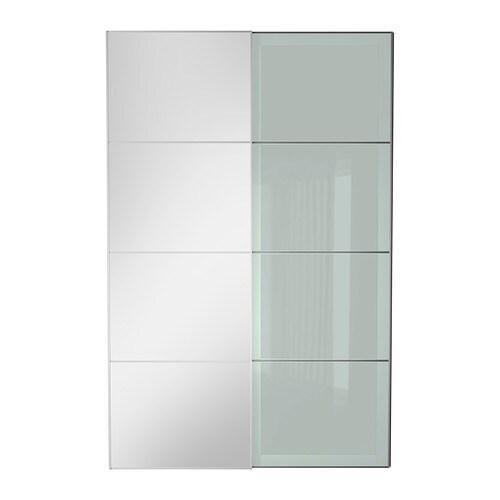 auli sekken pair of sliding doors 59x92 7 8 ikea. Black Bedroom Furniture Sets. Home Design Ideas