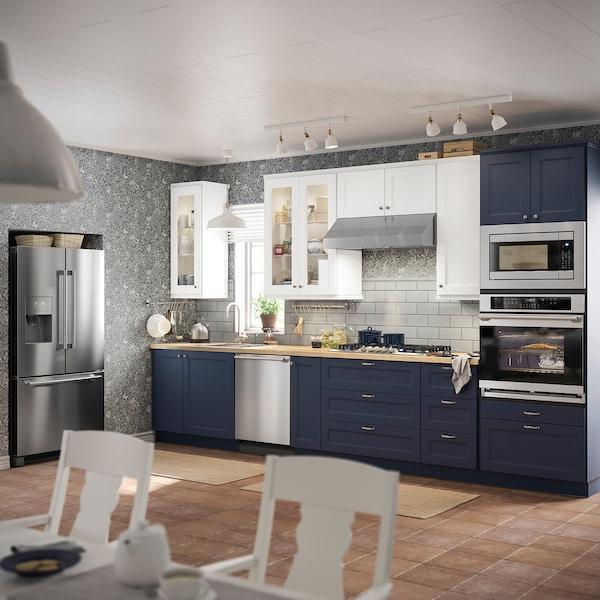 """AVBRÄNNING Gas cooktop, Stainless steel, 36 """""""