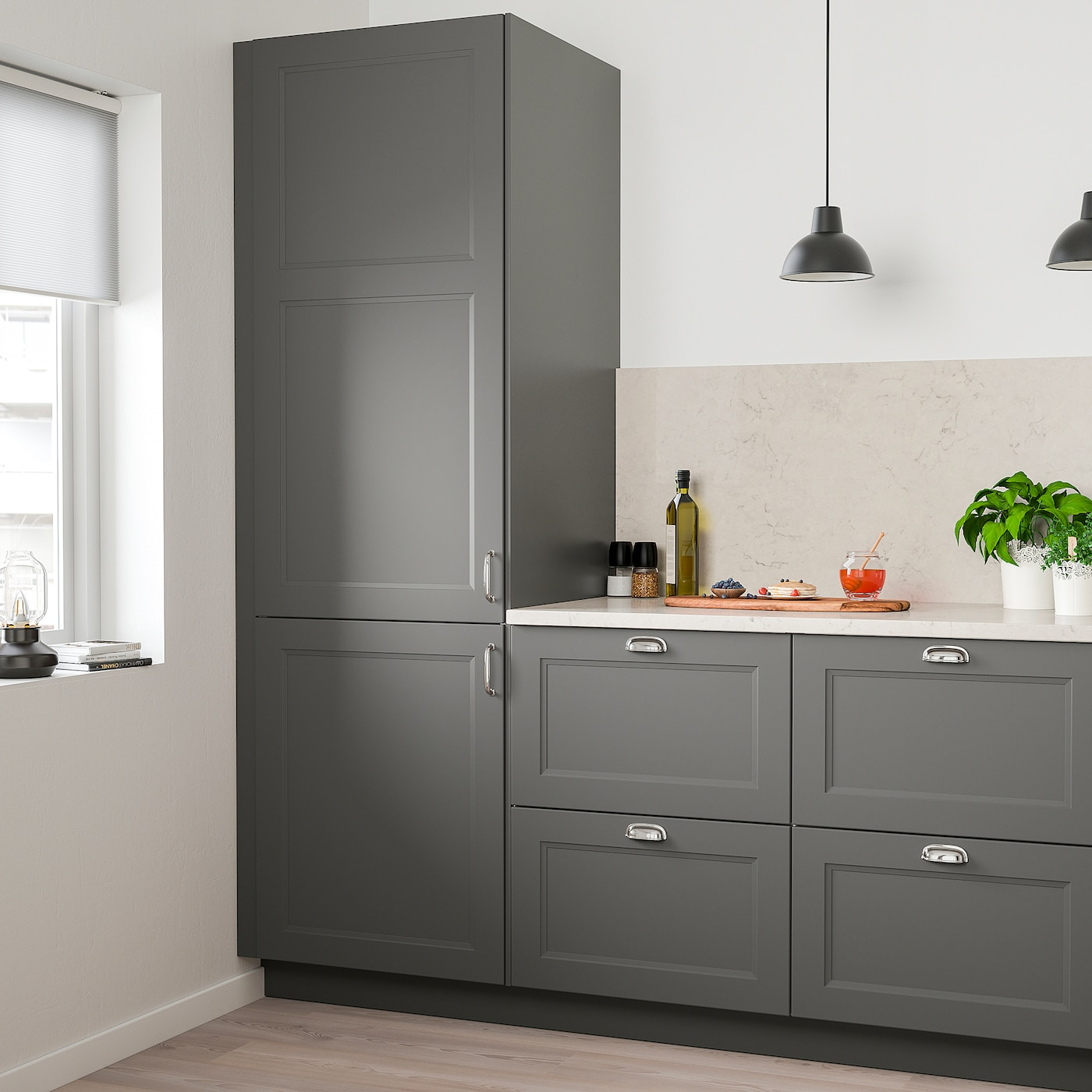 Axstad Door Dark Gray 21x20 Ikea
