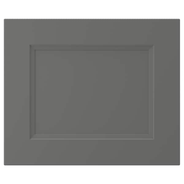 AXSTAD Drawer front, dark gray, 18x15 ""